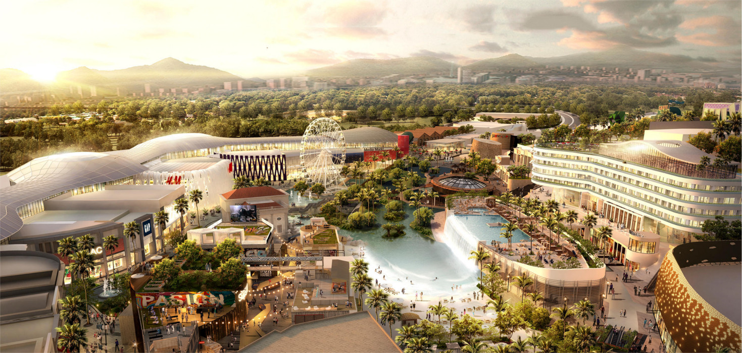 Shopping resorts concept